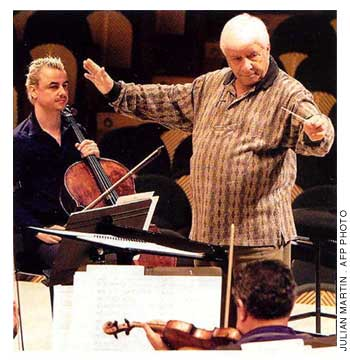 Elmer Bernstein is one of the film industry's most respected composers. In a career that has lasted more than 50 years, he has written music for over 200 films and television programs. A 13-time Academy Award nominee, Bernstein won the award in 1967 for Thoroughly Modern Millie. His music can be heard at the Blue Peter Prom—Fiesta! on September 8 and he conducts the Royal Philharmonic Orchestra in an 80th birthday concert at Royal Albert Hall on October 9.